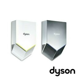 Dyson Airblade V Towels On The Wall Noisless Hygienic Fast And Compact