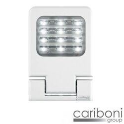 Cariboni Levante Small White Led 42w 5360lm 4000k Light Projector Outdoor