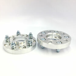 2pc 20mm Wheel Spacers   5x108 Hubcentric W Lip 65.1mm To 63.4 Hub   Volvo