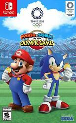 Mario And Sonic At The Olympic Games Tokyo 2020 - Nintendo Switch Brand New Sealed
