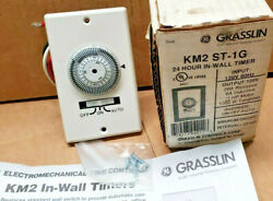 INTERMATIC Amp 24 Hours In Wall Mechanical Timer Switch White new in box