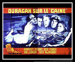 The Caine Mutiny 5x8 Ft Double French Grande Movie Poster Original 1954
