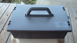 Taskmaster By Trophy Tool Box 20537 Made In Usa Heavy Duty Plastic