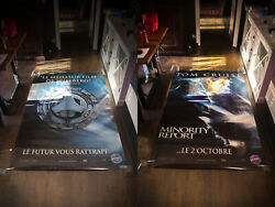 Minority Report 5x8 Ft Double Shelter Original Vintage Movie Poster 2002