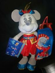 Disney Minnie Mouse Main Attraction Dumbo Plush Pins N Hip Pack Read Info 🤔
