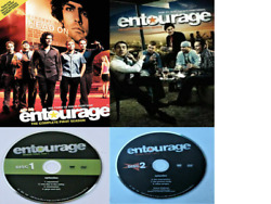 Entourage S1+s2+s3 Pt 1 Disc 1+pt 2 Disc 2 Dvd Region 1 And 3 Discs And Covers Only