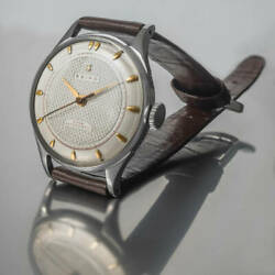 Seiko Super Vintage Rare Antimagnetic Manual Winding Mens Watch Auth Works