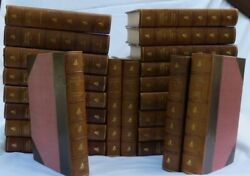 The Writings Of Rafael Sabatini Definitive Edition 22 Volumes Leather Bound 1924