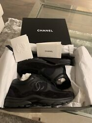 Sneakers Cc Logo Runners-black-size 37.5 Sold Out Authentic W/ Receipt