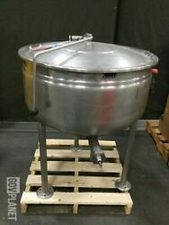 Cleveland Kettle Model Kdl30f 30 Gallon Stationary Full Steam Jacketed