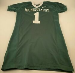 Vintage Nike Michigan State 1 Vainisi Team Issued Ncaa Football Jersey Size 48