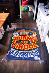 One Day At Paris Circus 1990and039s 39 X 59 French Original Vintage Poster