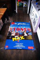 Rolling Stones At The Max Concert Movie 39 X 59 French Original Poster 1991