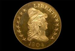 186489 Ten Dollar Gold Piece Coins Currency Money Decor Wall Poster Print