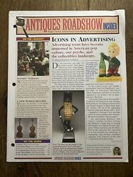 Vintage Antiques Roadshow Insider Collectibles Newsletter July 2006 Vol. 6 No. 7