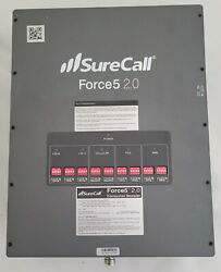 Surecall Force5 2.0 72db Commercial Cell Signal Amp Booster 4g 5g Antenna Data