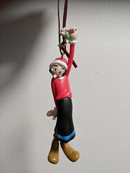 Olive Oyl Christmas Tree Ornament 1998 Carlton Cards The Popeye Collection