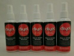 Dryel At Home Dry Cleaner Odor amp; Wrinkle Releaser Spray 3 FL Oz Each Lot Of 5