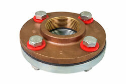 Midline Valve Flanged Dielectric Union Fip Brass X Stainless Steel 5 Pack