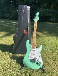 Fender American Standard Stratocaster 1996 Surf Green W/ Matching Headstock