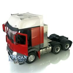 Lesu Rc Metal 66 Chassis Hercules Painted Actros Cabin Tractor Truck Motor 1/14