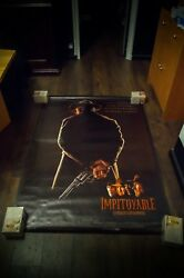 Unforgiven Clint Eastwood 4x6 Ft French Grande Rolled Movie Poster Original 1992
