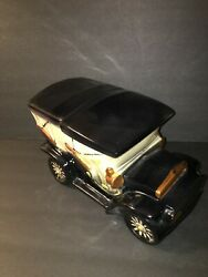 Vintage 1960s Mccoy Ford Touring Car Cookie Jar 7 Made In Usa