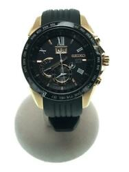 Seiko Astron 8x42-0ae0-3 Box Date Used Gps Solar Mens Watch Authentic Working
