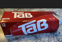 One 12-pack Of Tab Soda 12oz Cans New Unopened Discontinued Fast Shipping