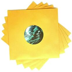 500 78-rpm 10-inch Vinyl Record Sleeves Golden Brown Paper Victrola Shellac 78s