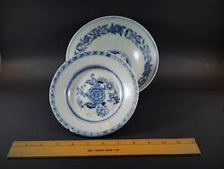 Two Antique Chinese Sunken Treasure Bowls One Nagel Auctions Tek Sing C. 1822