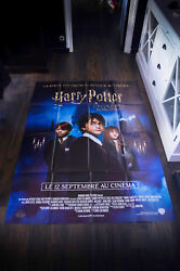 Harry Potter Rerelease 4x6 Ft French Grande Movie Poster Original 2018