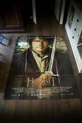 The Hobbit Unexpected Journey 4x6 Ft French Grande Movie Poster Original 2012