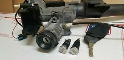Bmw E36 Ignition Switch With Key 328 323 M3 96 97 98 99 Lock + Door Tumblers Oem