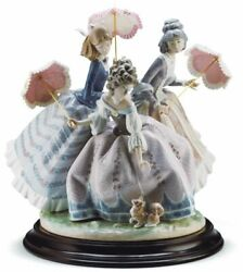 Lladro Three Sisters Sculpture. Limited Edition 01001492