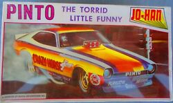 Crazy Horse Pinto Funny Car Johan Gc-3200 Ford 1/25 Older Issue Wrapped
