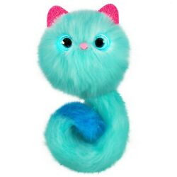 Pomsies Pom Pom Pet Stardust Plush Interactive Toy - Glimmering Teal