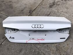 2017 2018 2019 Audi A5 S5 Coupe Trunk Lid Shell Oem Used