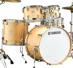 Yamaha Tour Custom 4pc Drum Set Shell Pack W/22 Bass Drum Tmp2f4bts In Stock