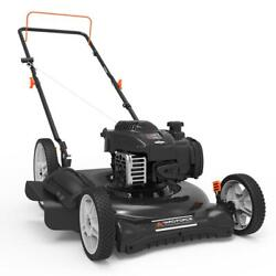 21 In. 140 Cc 500e Series Briggs And Stratton Gas Walk Behind Push Mower With