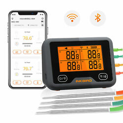 Digital Wireless Wifi Bbq Thermometer Bluetooth Calibration Kitchen Food Cooking