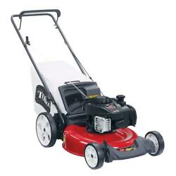 Recycler 21 In. Briggs And Stratton High Wheel Gas Walk Behind Push Lawn Mower