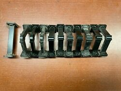 Lot Of Wr42 18-26.5 Ghz Microwave Rigid Waveguides - Black - H And E Bends