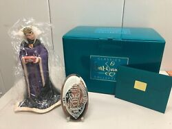 Wdcc Snow White Evil Queen Bring Back Her Heart New W/coa + Collectors Mirror