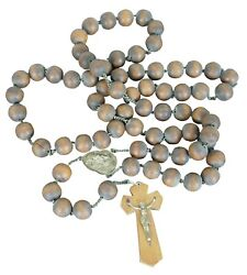 Vintage Wood Wall Rosary Catholic St Anne De Beaupre 76andrdquo