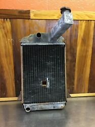 Triumph Tr2 Tr3 Tr4 Andbull Radiator With Hole For Engine Crank. For Parts. T1632