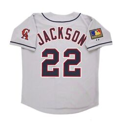 Bo Jackson 1994 California Angels Grey Road Menand039s Jersey W/ 125th Patch