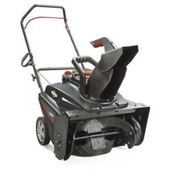 22 208cc Single Stage Gas Powered Auger Propelled Drive Walkway Snow Blower