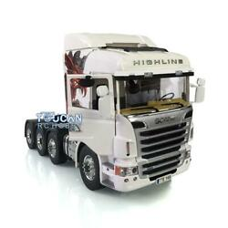 Lesu 88 Metal Chassis 1/14 Rc Scania R730 Tractor Truck Hercules Gripen Cabin