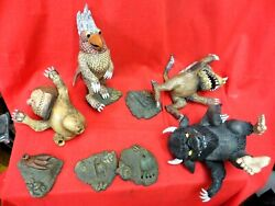 Mcfarlane Toys Where The Wild Things Are , Action Figure Lot/ Parts